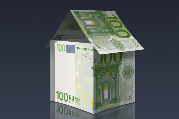 Ein Haus aus Geld.