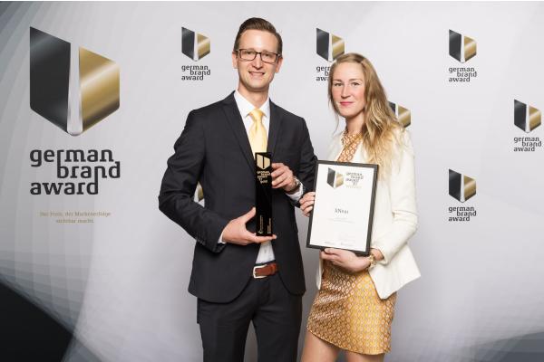 liNear gewinnt beim German Brand Award 2017