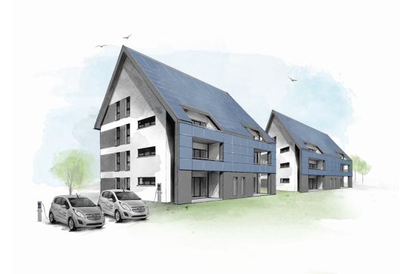 Baubeginn für energieautarke Mehrfamilienhäuser in Cottbus