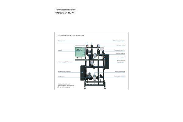 Die Bestandteile des Trinkwassererwärmungssystems