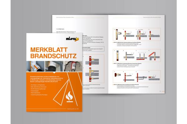 Neuauflage Merkblatt und Brandschutzpass von Missel