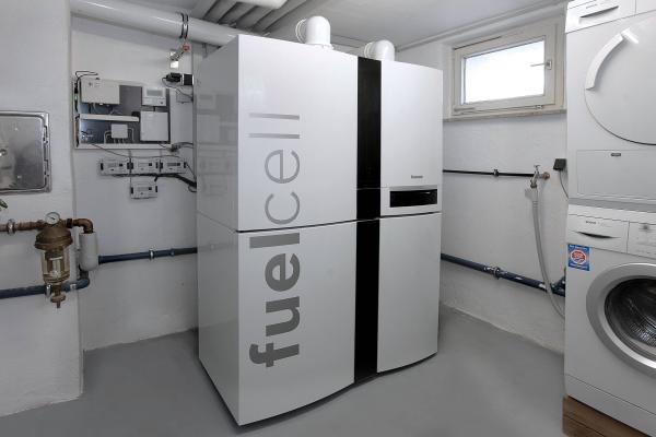 Einsatz von Brennstoffzellen im Ein- und Zweifamilienhaus