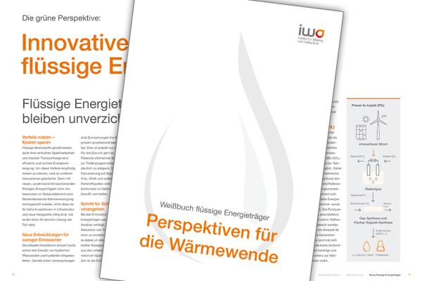 IWO-Weißbuch zeigt Zukunftsperspektiven für Ölheizung