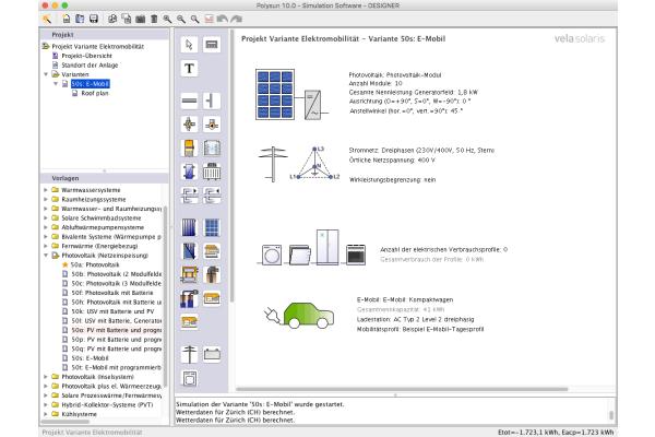 """Polysun 10.0"" macht E-Mobility planbar"