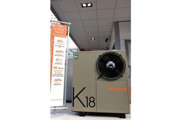 Die Gas-Absorptionswärmepumpe K18.