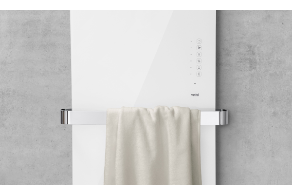 """Neuer Designheizkörper """"Runtal Folio Glass"""""""