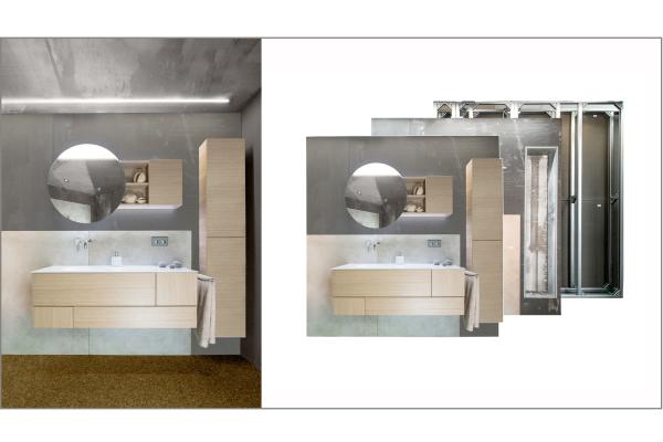 Vorfertigung verändert Badrenovierung