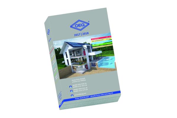 Der OEG-Gesamtkatalog: Produkte für das SHK- und Elektrohandwerk