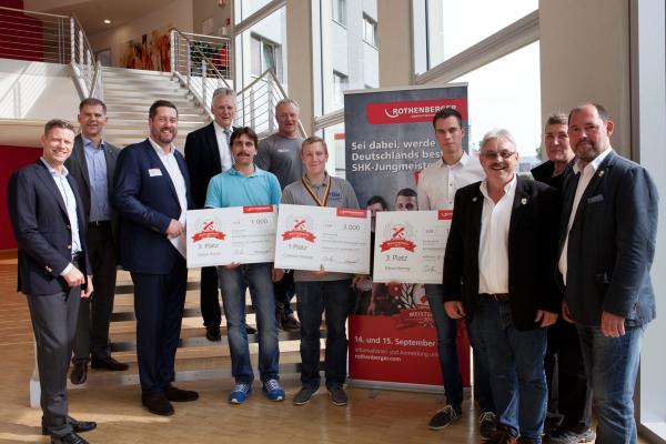 Sieger des Rothenberger-Meisterpreises prämiert