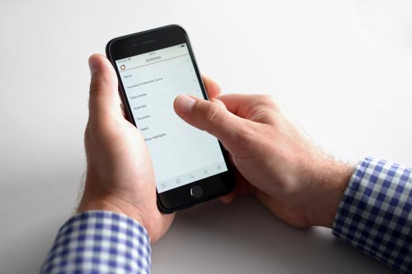 Mit der ZVSHK-App mobil informiert