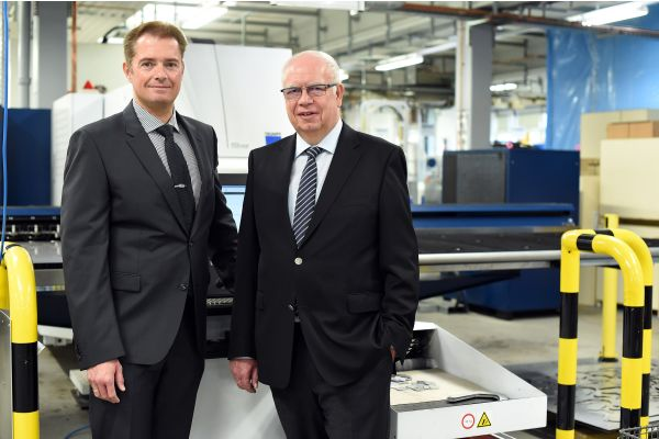 Die geschäftsführenden Jumo-Gesellschafter Bernhard und Michael Juchheim.