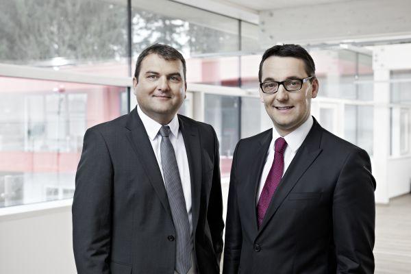 Die Inhaber von aqotec: Christian Plainer (links) und Christian Holzinger