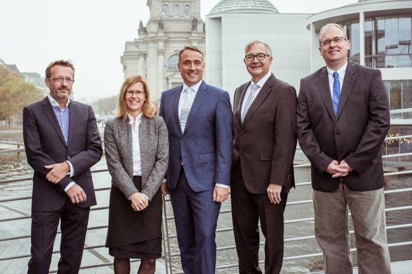 Das Bild zeigt den aktuellen VfW-Vorstand.