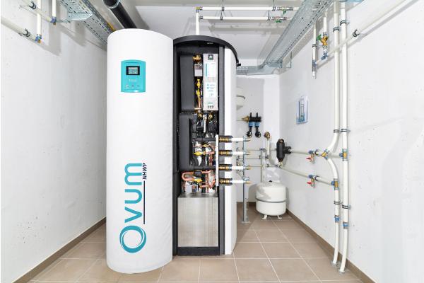 Kompaktwärmepumpe optimiert PV-Strom-Eigenverbrauch