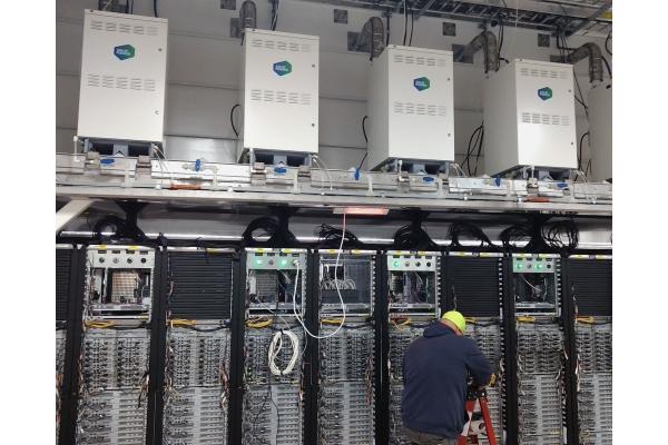 Brennstoffzellen im Microsoft-Rechenzentrum