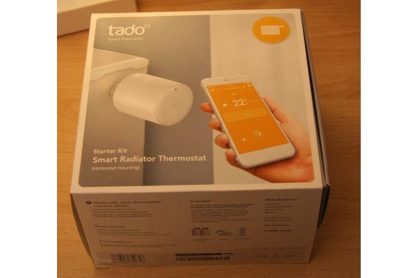 Das Smarte Heizkörper-Thermostat–Starter Kit von tado°.