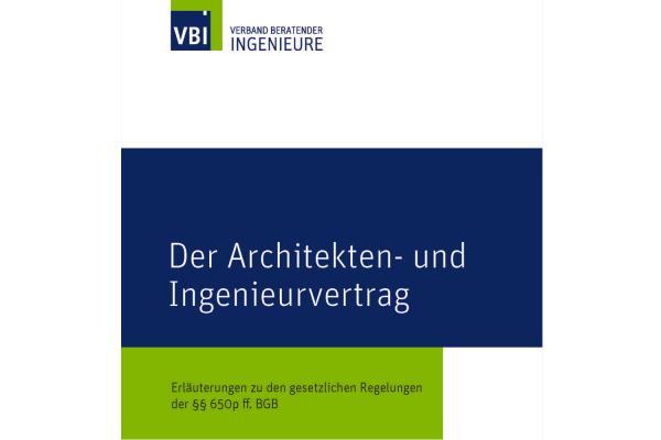 VBI-Broschüre zum neuen Planungsvertragsrecht