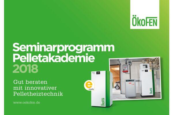 Werbung für die ÖkoFEN-Pelletakademie.