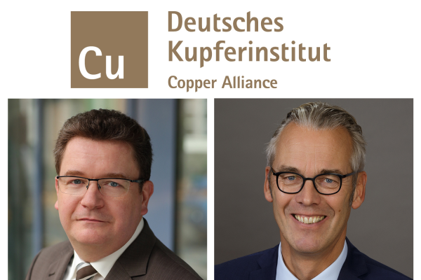 Führungspositionen beim Kupferinstitut neu besetzt