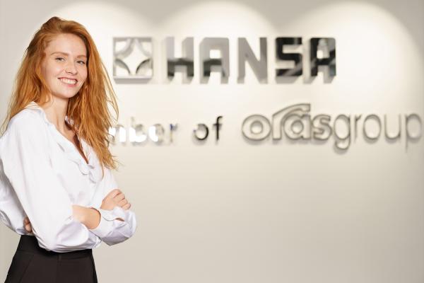 Neue Markenbotschafterin von Hansa