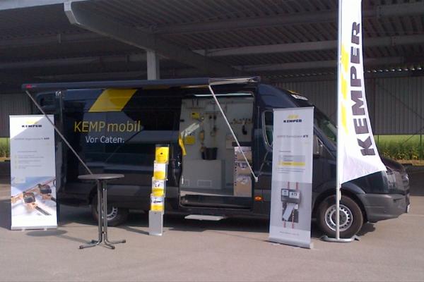 Kemper-Technik legt über 70.000 Kilometer zurück