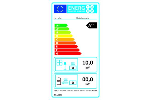 Energielabel jetzt für Pelletkaminöfen verpflichtend