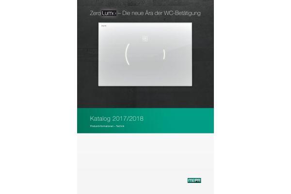 """Das Bild zeigt den neuen """"Katalog 2017/2018"""" von MEPA."""