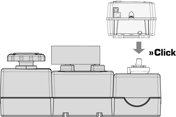 Schema der Pumpengruppe