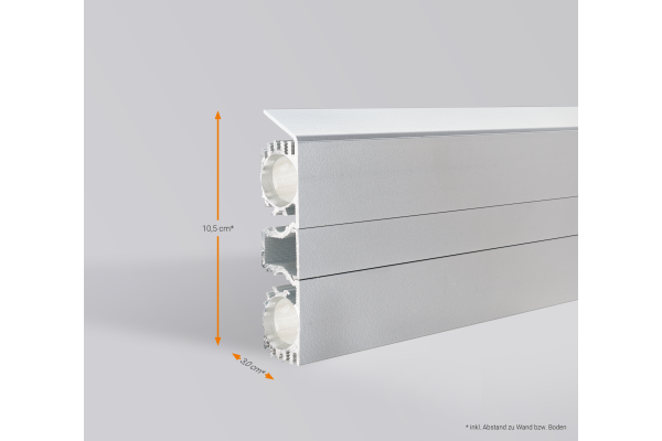 HeiDeTech GmbH stellt Sockelleistenheizung vor