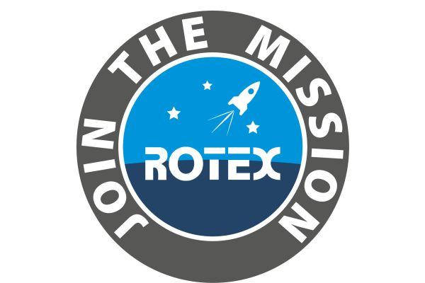 Logo mit dem Motto von Rotex.