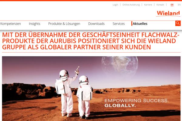 Wieland Gruppe plant Übernahme