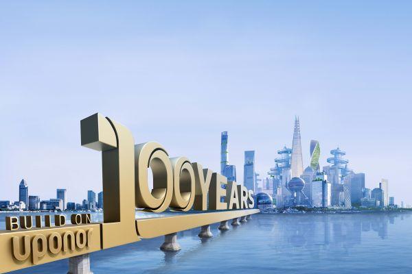 Key Visual zu 100 Jahren Uponor.