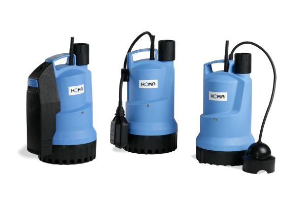 Neue Tauchmotorpumpen-Reihe von Homa