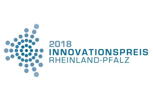 Logo des Innovationspreises Rheinland-Pfalz.