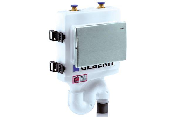 Automatische Hygienespülungen erneuern in Stockwerksinstallationen regelmäßig den Wasserinhalt und verhindern dadurch Stagnation