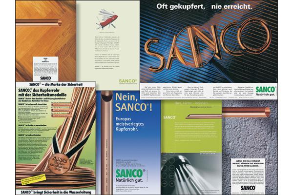 """""""SANCO""""-Qualitätskupferrohr in der Gebäudeinstallation"""