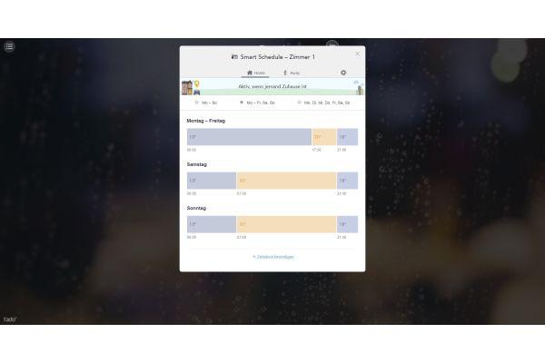 Screenshot des