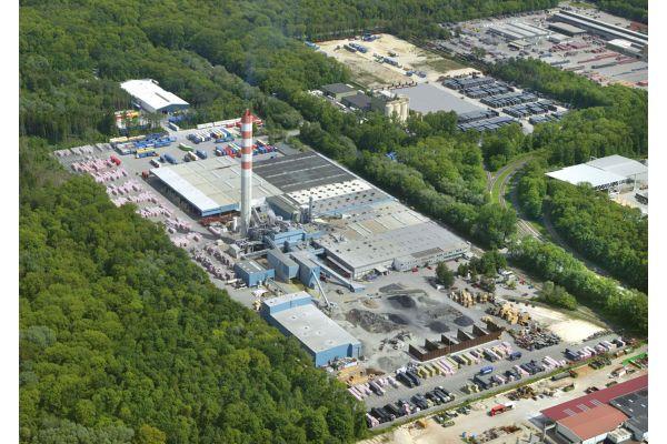 Das Bild zeigt das Rockwool-Werk in Neuburg.