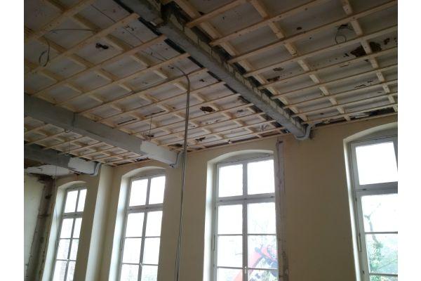 Sanierung der Decken in der Senioren-Wohnanlage in Oldenburg.