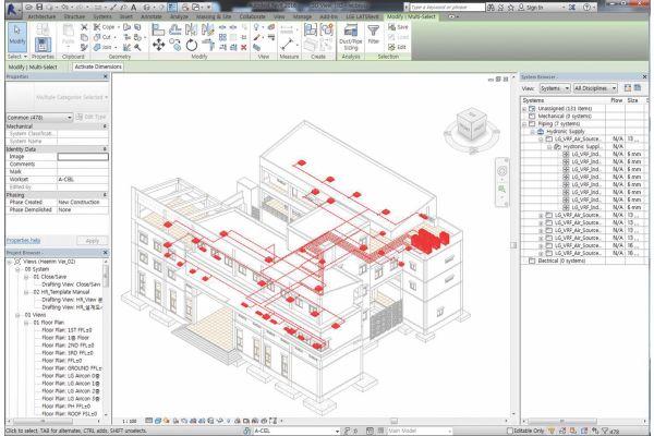 Screenshot des BIM-Tools
