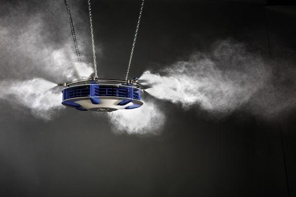 Ein Luftbefeuchter von Merlin Technology.