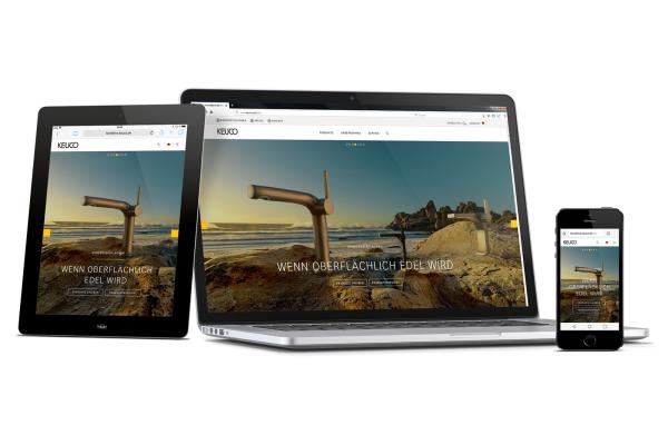 Keuco präsentiert Internetauftritt in neuem Design