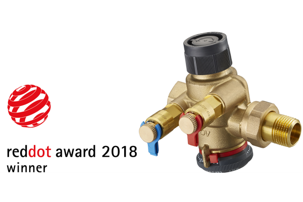 "Oventrop  gewinnt ""Red Dot Award: Product Design"""