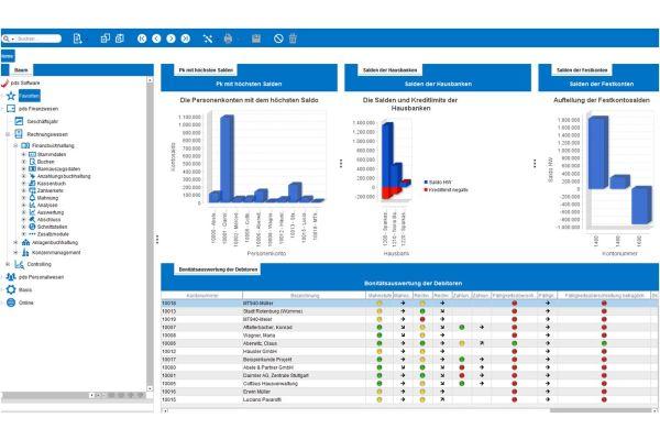 Screenshot der Handwerkersoftware