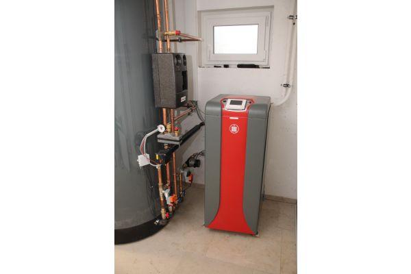 Die hybride Split Luft/Wasser-Wärmepumpe