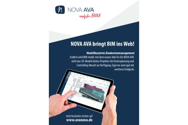 """NOVA AVA"" macht BIM mobil"