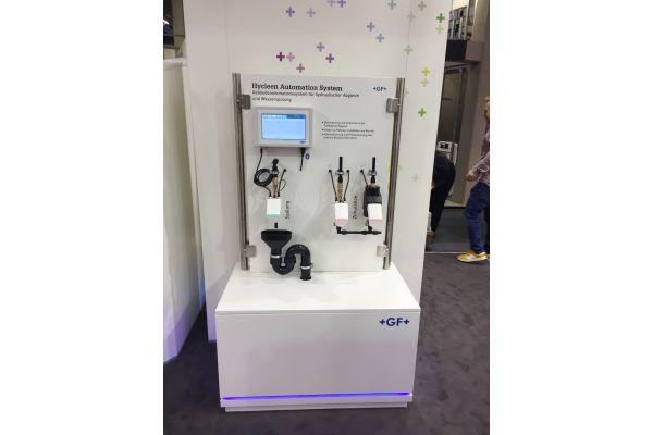 """Das Bild zeigt das neue """"Hycleen Automation System""""."""