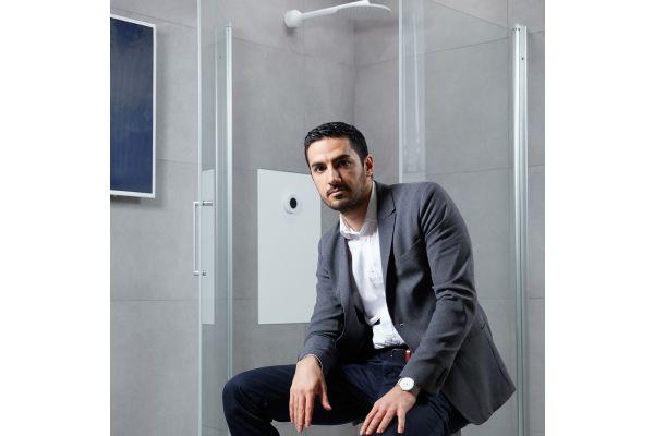 Das Bild zeigt Mehrdad Mahdjoubi.