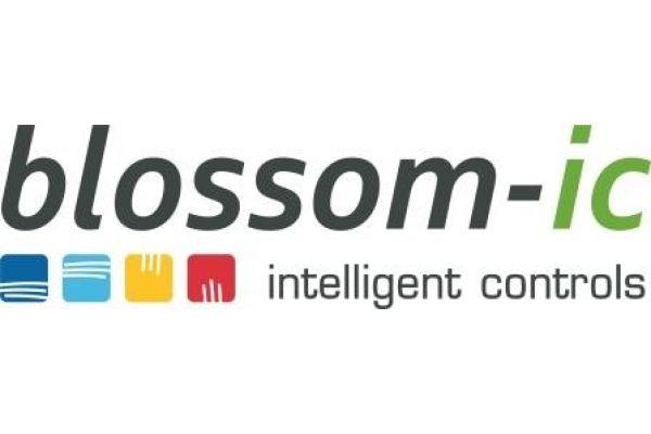 Das Logo der Firma blossom-ic.
