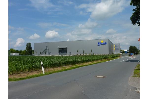 Logistikzentrum bekommt Industriebodenheizung